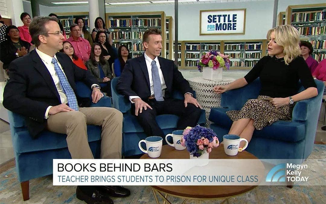 "Books Behind Bars, subject of ""Seats at the Table"" featured on Megyn Kelly Today"