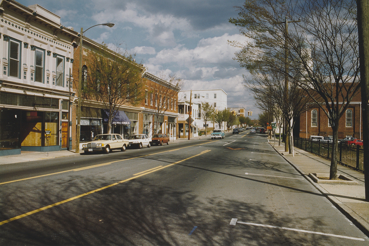 West Main Street - early 1990's